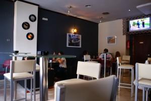 Interior de Vincent Café