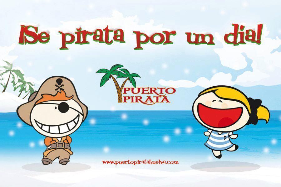 Puerto Pirata, un lugar en Huelva donde niños y mayores disfrutan buscando el «gran botín»