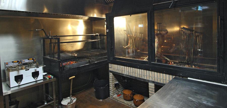 Cocina del Restaurante Malambos