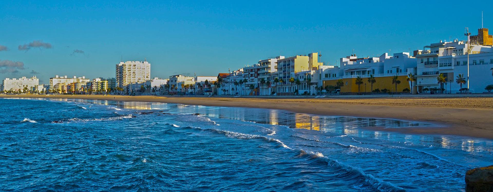 Playa La Costilla Rota Cadiz