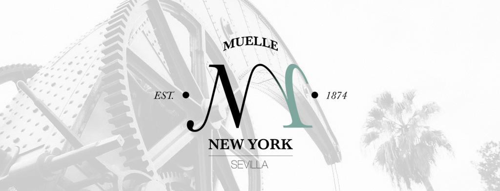 Terraza New York & Lounge Mojito's en el Muelle de Nueva York de Sevilla