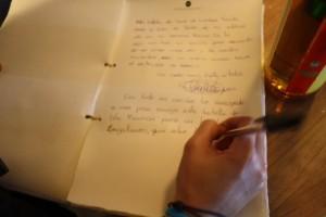 Libro del Viajero Magallanes Bar