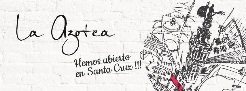 Restaurante La Azotea, cocina de altura en Sevilla