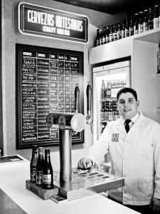 La barra de cervezas de Dolores & Brasas