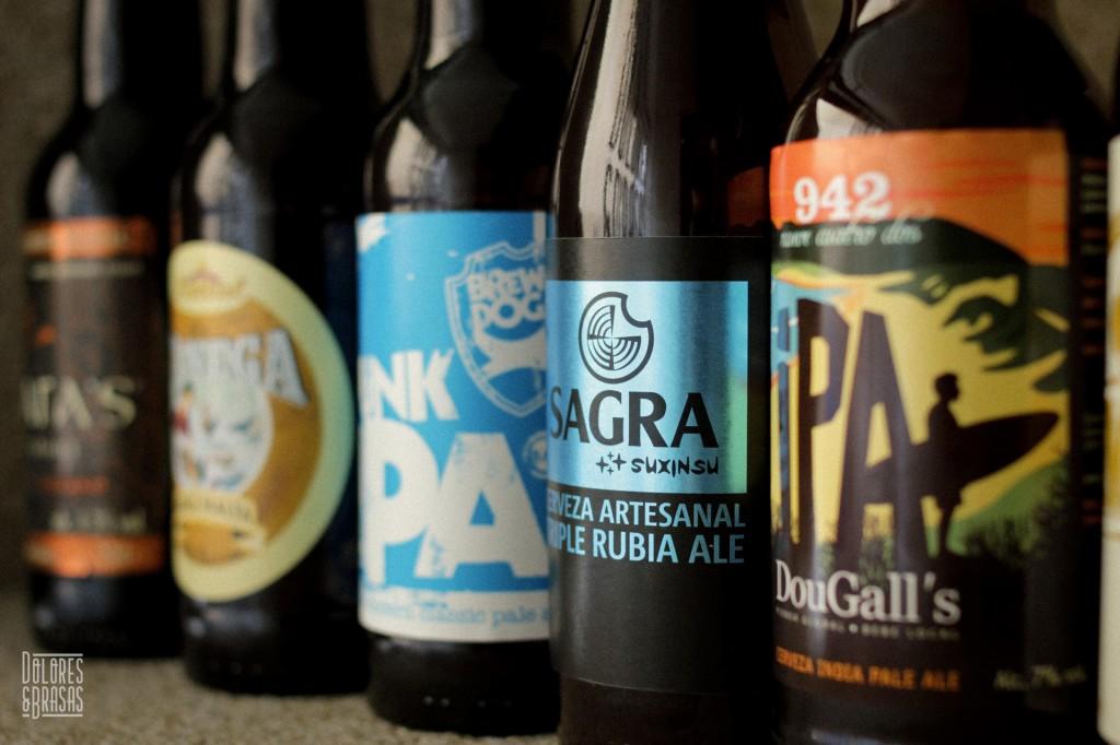 Cervezas Artesanales de Dolores y Brasas