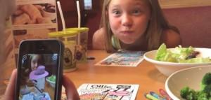 Olive-Garden-Dibujos-en-3D-para-los-niños-en-los-restaurantes