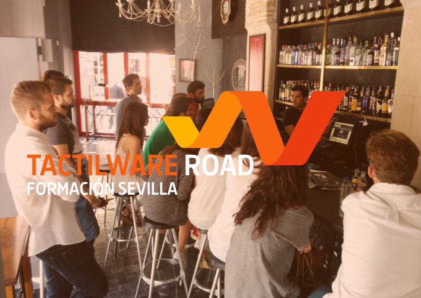 TactilWare Road. Formando encargados de hostelería en Sevilla
