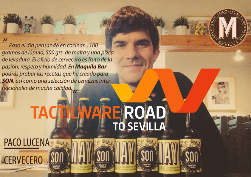 Tactilware road to…Sevilla