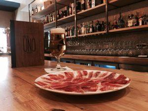 Jamón Gran Vía UNO Huelva Capital Gastronómica