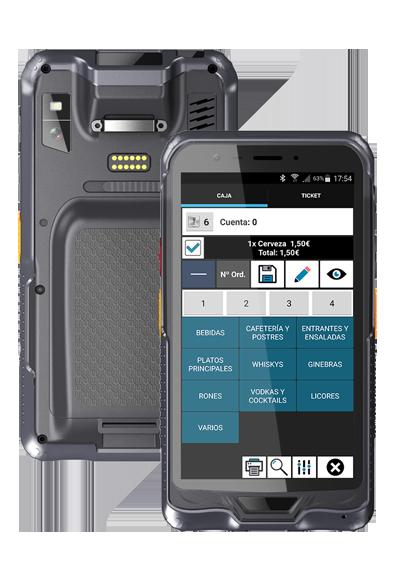 PDA R6 TACTILWARE