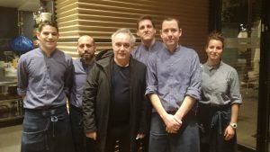 Ferran Adriá Bulli con equipo Tradevo