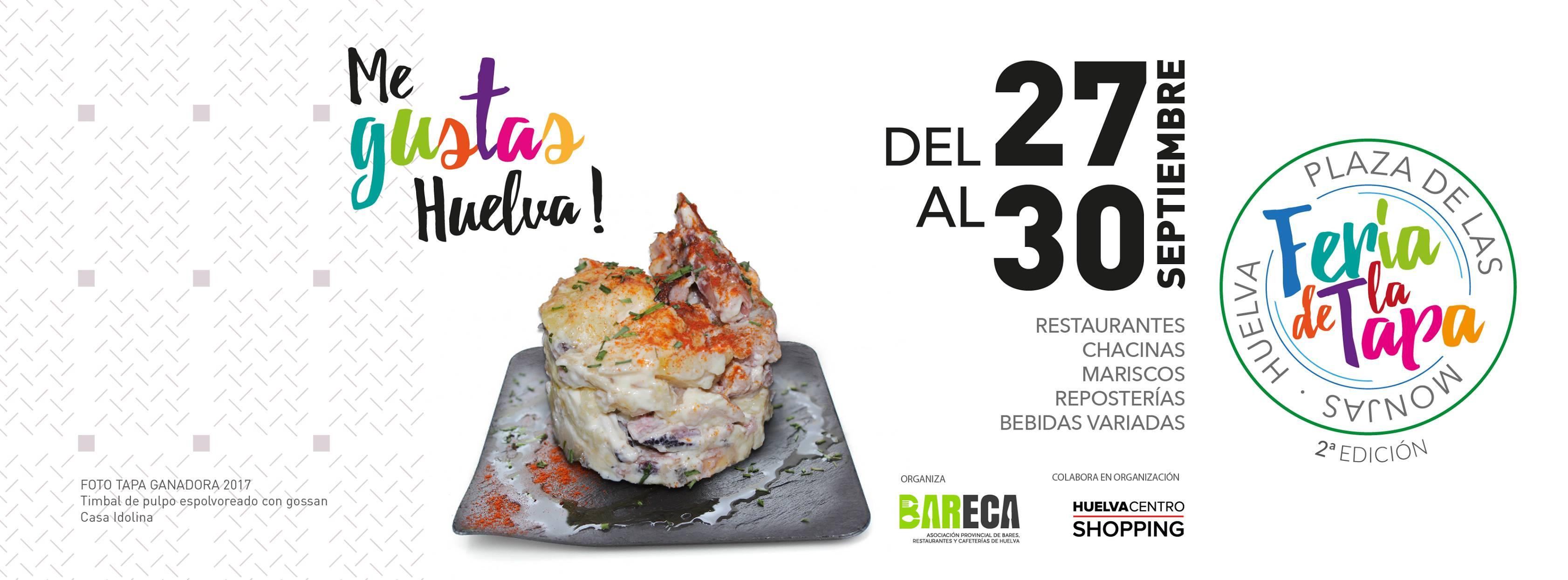 Numier colaborador oficial de La Feria de la Tapa de Huelva 2018