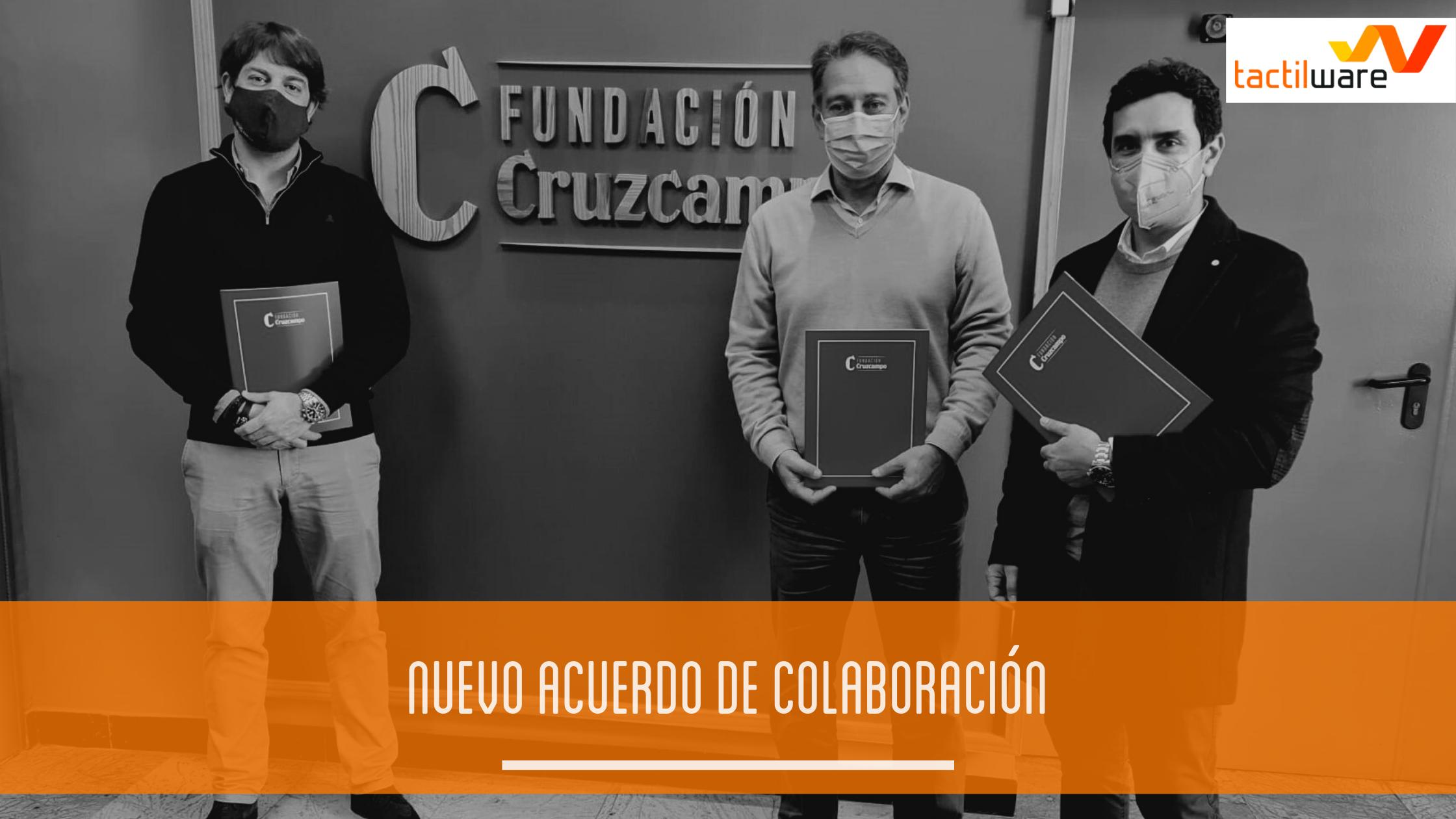 Fundación Cruzcampo (Heinken España) y Numier TPV firman un acuerdo de colaboración para la digitalización de su nueva sede.