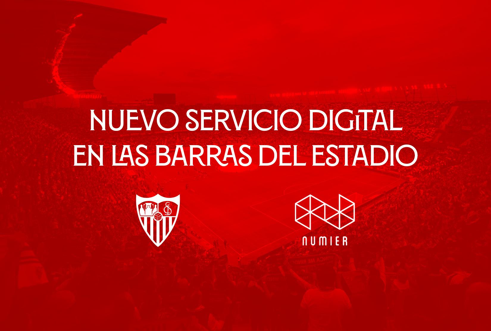 Numier TPV digitaliza las barras del Ramón Sánchez – Pizjúan
