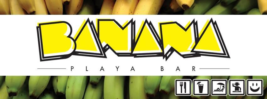 Banana Playa Bar, un chiringuito colorido lleno de diversión en la Playa Niño de Oro de Chipiona