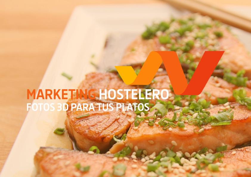 Marketing Hostelero. Fotos 3D para tus platos