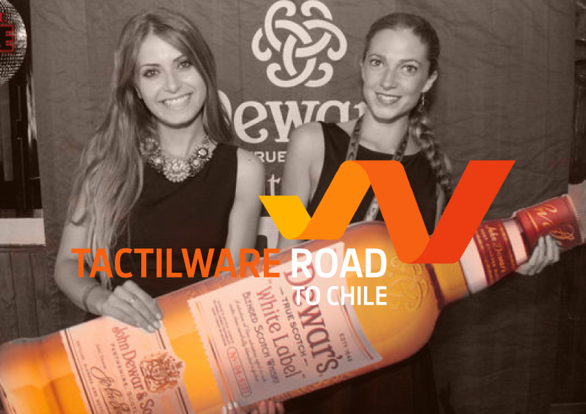 Tactilware road to…Chile!
