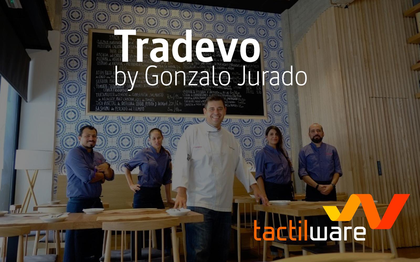Tradevo, la alta cocina sevillana de la mano de Gonzalo Jurado