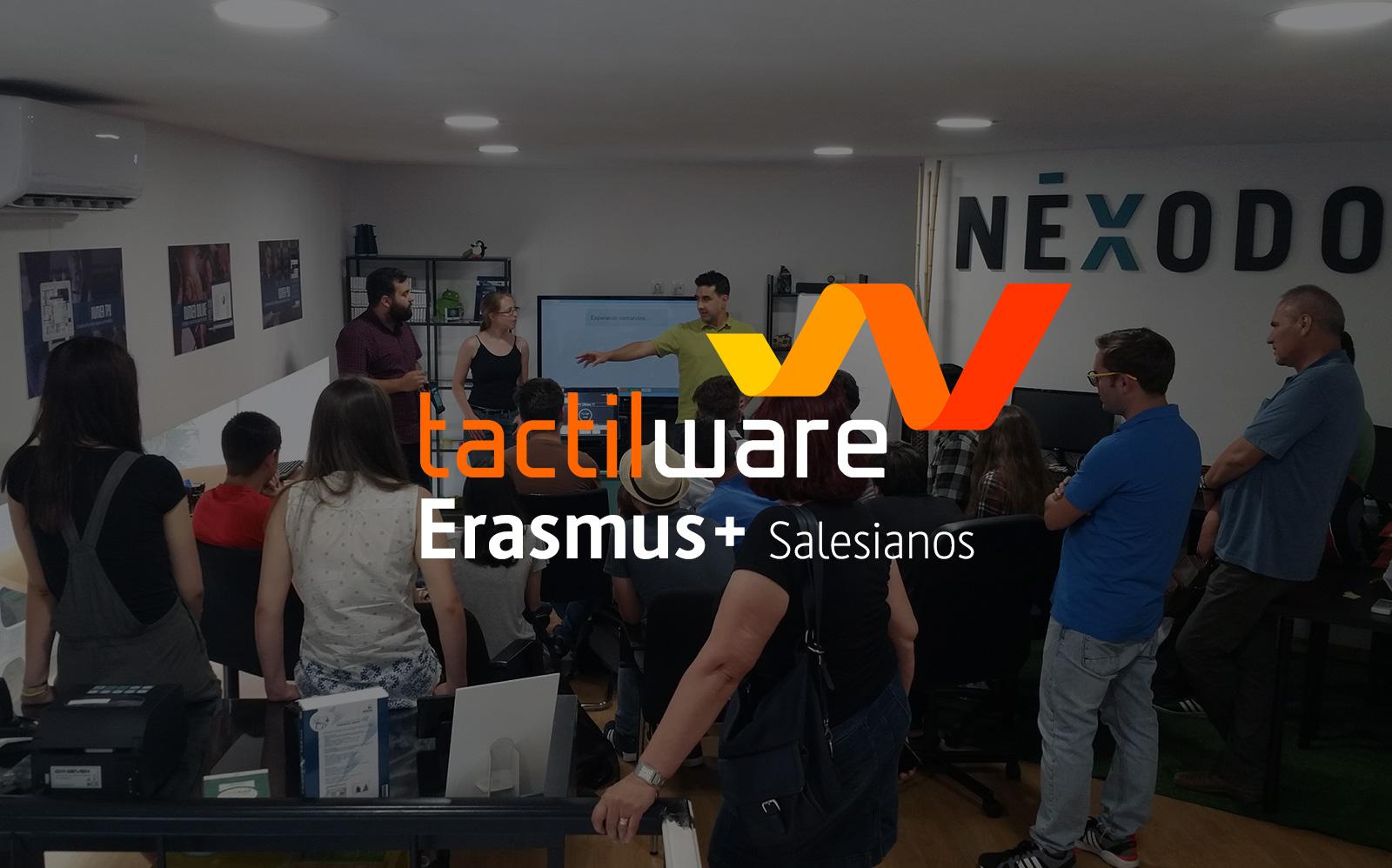 Alumnos de Erasmus+ visitan nuestras instalaciones