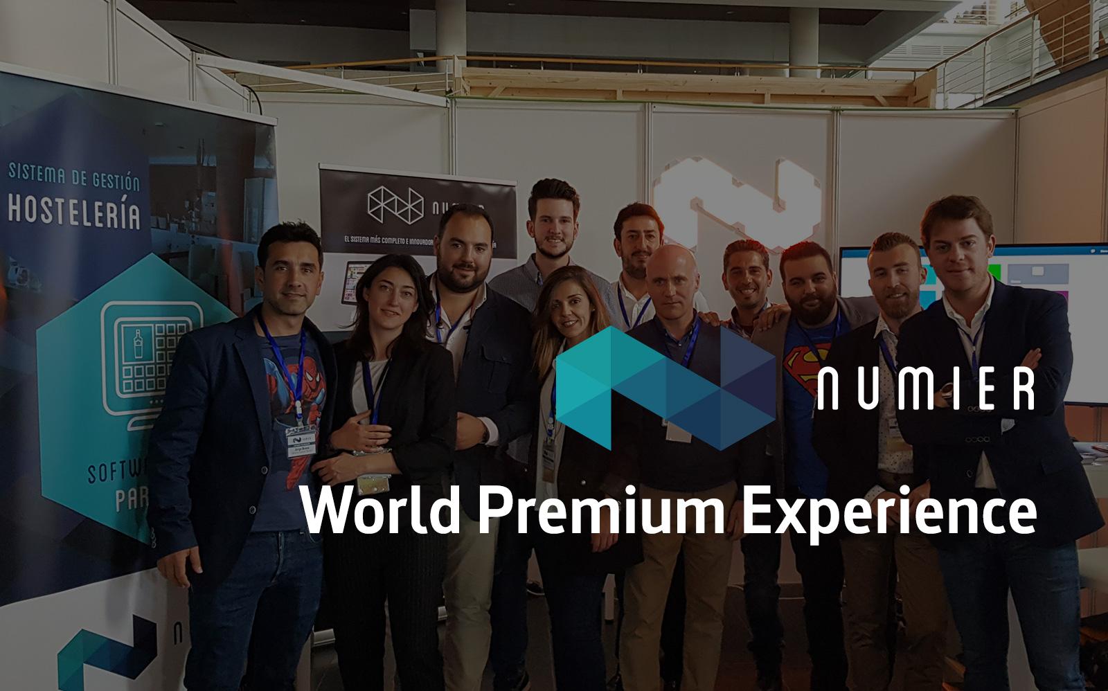 Numier en la World Premium Experience 2018