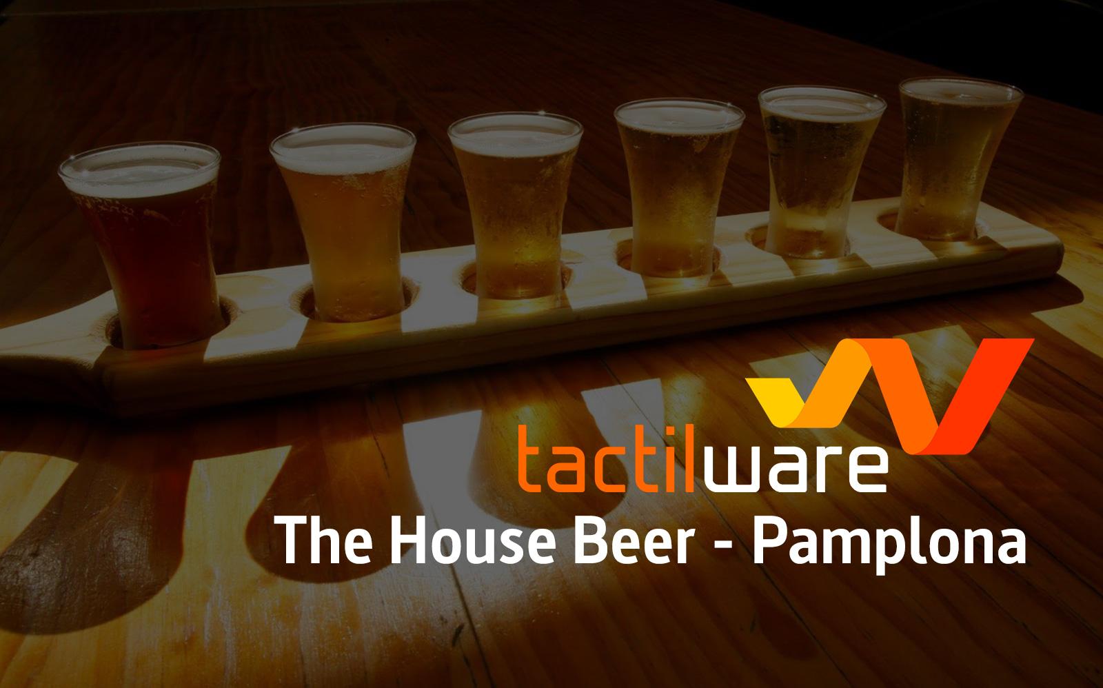 The House Beer Pamplona: como en casa cerveza en mano