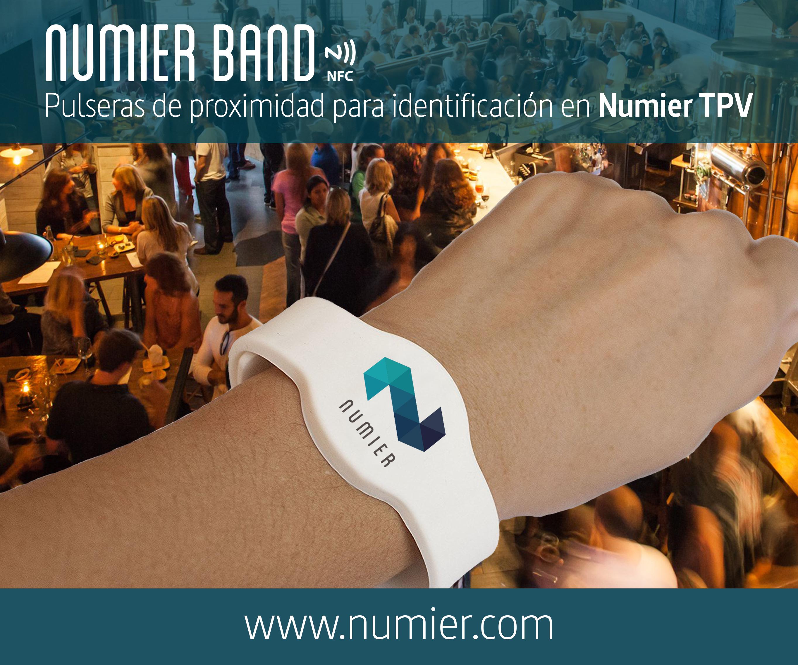 Numier BAND. Nuevas pulseras de registro horario para hostelería.