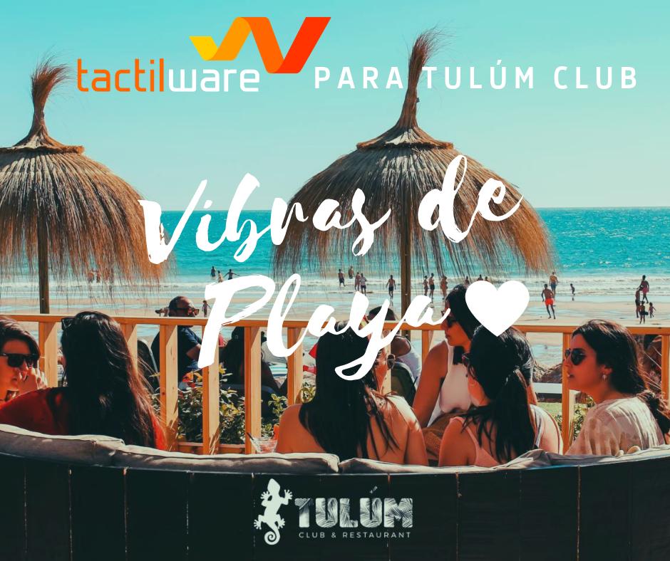 TULÚM CLUB & RESTAURANT, las mejores vibras veraniegas en playa Tres Piedras, Chipiona.