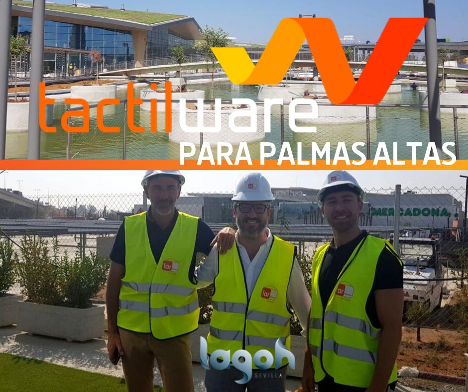 Empresa Sevillana Tactilware, informatiza la hostelería en Lagoh, Palmas Altas.