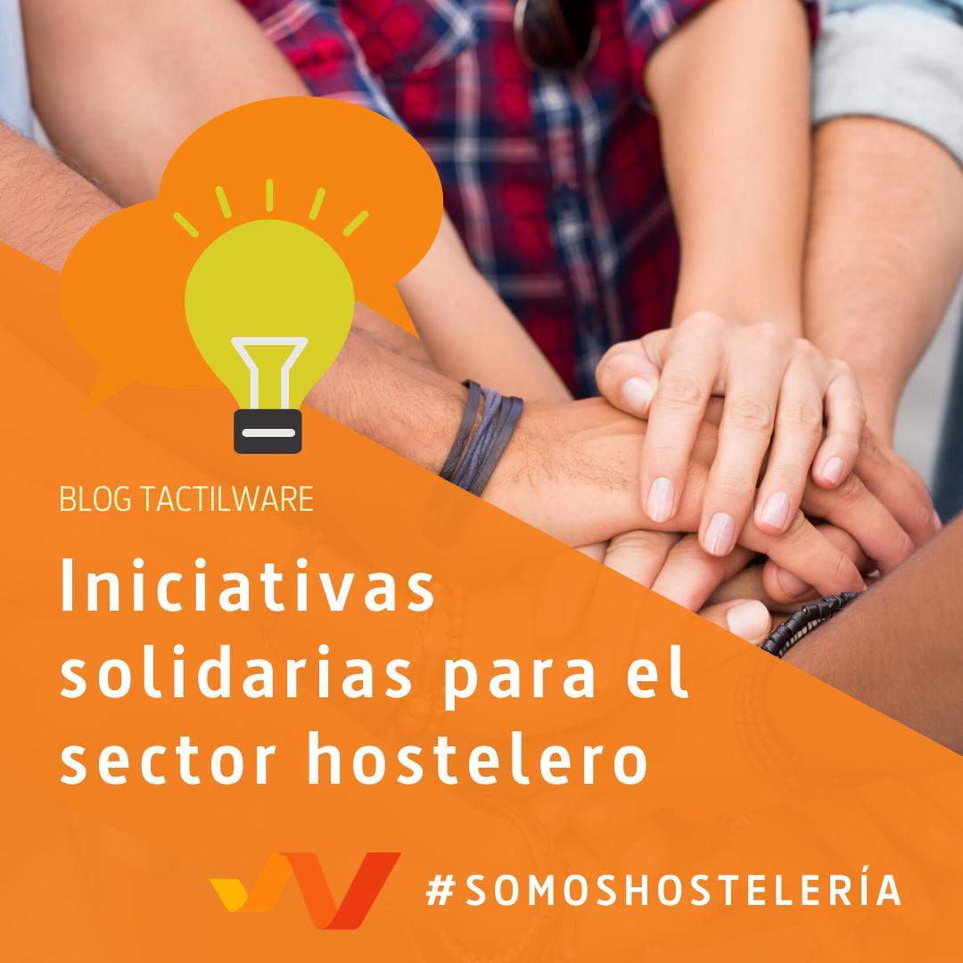 Iniciativas Solidarias para el sector Hostelero