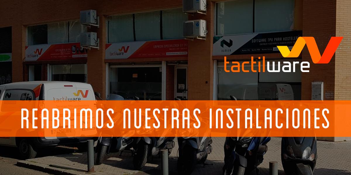 Reabrimos nuestras instalaciones en Sevilla.