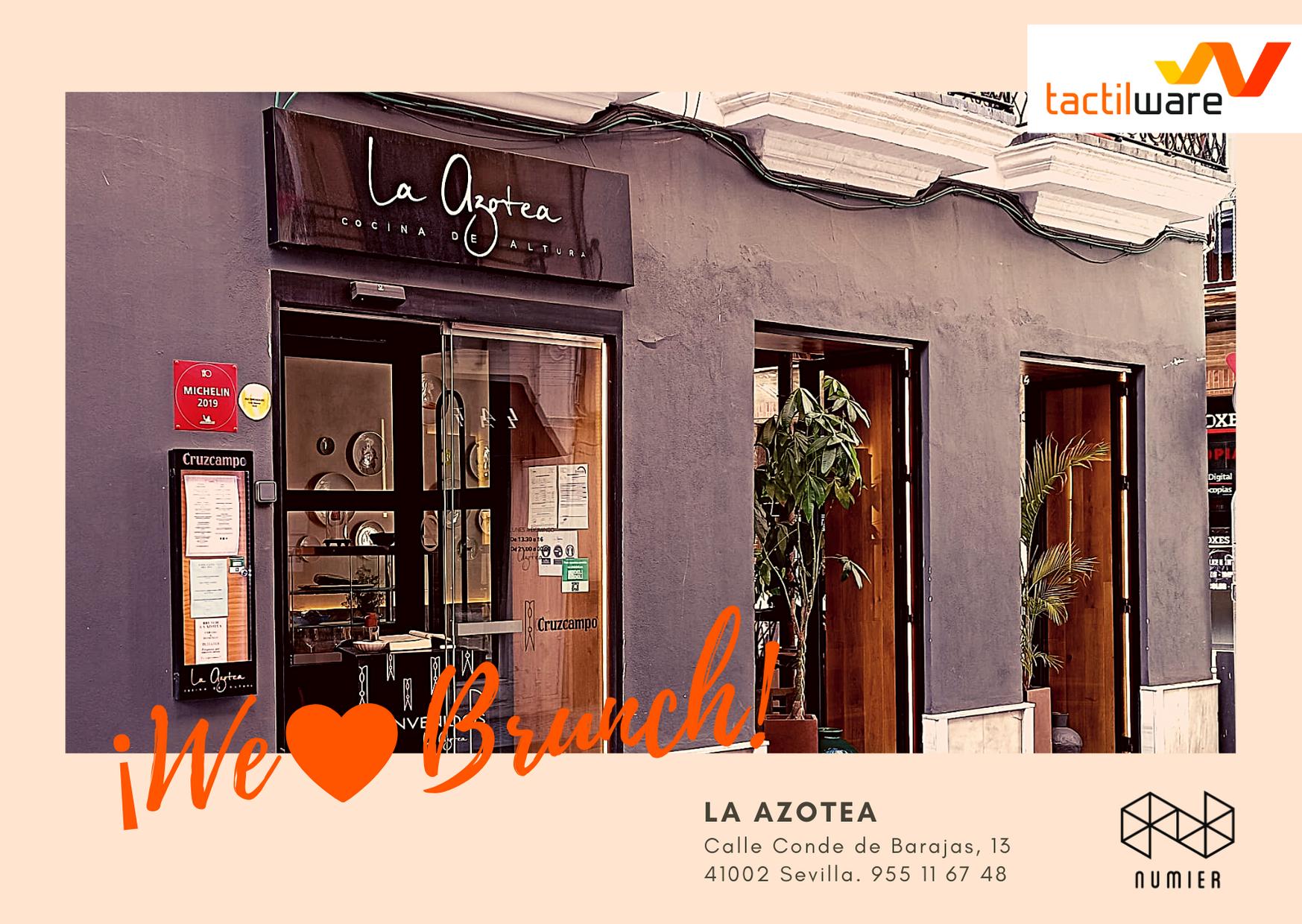 Estamos in love con el Brunch de La Azotea